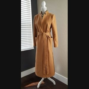 Jackets & Blazers - Long Coat Camel Color